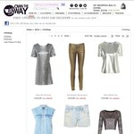 Clothing Sale @Own The Runway. Price Starts at £2. Shipping £9.99. 10% off for Facebook Like