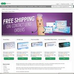 SpecSavers $50 off Contact Lens Order over $99 + Free Shipping