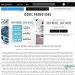 THE ICONIC Shop & Save - $15 off $100+ Spend, $40 off $200+ Spend, $100 off $400+ Spend