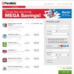 Parallels 10 Upgrade Bundle with 1Password, Camtasia, Acronis True Image + More $54.95