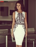 20% off on Women Summer White Office Dress M-XXL Size AU $15.83 + Free Shipping