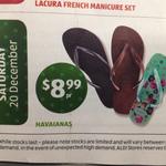 $8.99 for Havaianas Thongs @ ALDI Starts 20 Dec