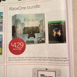 Xbox One with Halo and Assassin's Creed Unity & Black Flag - $429 - Target - Boxing Day Sales