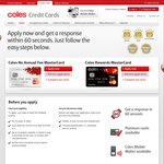 Coles Mastercard $0 Annual Fee, 18 Months 0% Balance Transfer