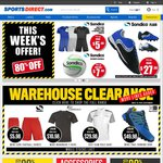 SportsDirect - 1 Million Shoes Reduced - up to 80% off