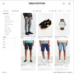 50% off All Men's Sale Items at Urban Outfitters - Free Delivery to AUS over US$50