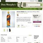 Johnnie Walker Blue Label Scotch Whisky 700ml - $164.95/Bottle @ Dan Murphy's