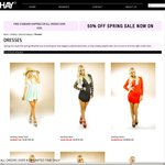 50% off Spring Sale, Extra 15% off for OzBargain Users @ Beshay Clothing