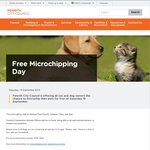 Free Micro Chipping Day from Penrith City Council NSW This Saturday