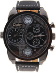 OULM Men's Military Dual Dial Wristwatches - USD $12 (~AUD $17) (Save USD $8) [Kalopro.com]