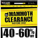 DickSmith 'Mammoth' Sale: 60-70% off Audio, 30-70% off Blu-Ray Players & PVR, up to 80% off Security