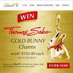 Win 1 of 100 Gold Bunny Charms Worth $150 Each - Buy Lindt Bunny from Big W