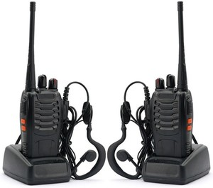 2pcs x BAOFENG BF-888S Ham Radio With Earpiece $16 88