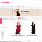 Mamaway Maternity & Nursing Fashion - 50% off Any 3 or More