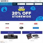 Sparesbox Click Frenzy Mayhem 20% off Storewide
