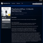 PlayStation Plus: 12 Month Membership & STAR WARS Battlefront Ultimate Edition $69.95