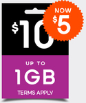 Boost Mobile - $10 UNLTD+ NOW $5 for 7 Days