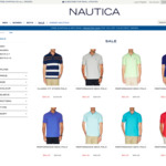 Nautica Long Weekend Flash Sale. Up to 50% Off selected styles: Polo's from $40, Shirts from $55, Women's V-Neck Tees from $30