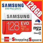 Samsung EVO Plus 128GB MicroSDXC Class 10 U3 100MB/s 4K - $62.32 Delivered @ Shopping Square eBay