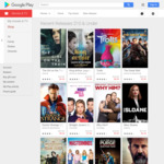 Google Play $10 and under SD Movies To Own, TV Shows $0.99