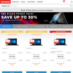 Lenovo Black Friday Sale - E570 i7/16GB/256GB $1069, X1 Carbon i5/8GB/256GB $1499, X1 Yoga i7/8GB/256GB $1699