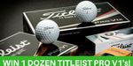 Win One Dozen Titleist PRO V1 Golf Balls from Squeak Digital Pty Ltd