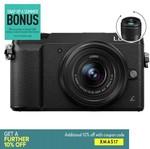 Panasonic DMC-GX85 + 12-32mm f3.5-5.6 Lens + 25mm f1.7 Lens $718.96 after coupon @ Ryda