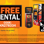 Free Video Ezy Express Kiosk - 1 Free Rental Voucher