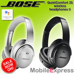 Bose QC35 II QuietComfort 35 Wireless Noise Cancelling Headphones - Series 2: $369 @ Mobile Express on eBay