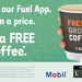 Free Regular Coffee When You Lock in a Fuel Price Using The 7-Eleven Fuel App @ 7-Eleven (Single Use Offer)