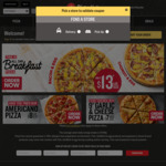 """""""Double-Hut"""": 2 Large Pizzas, One Side, One 1.25ltr Drink for $29.95, Delivered from Pizza Hut"""