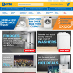 Betta Home Living Mystery Discount 5%-30% off Today (26th) Only. [Online Only]
