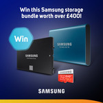 Win a Samsung SSD Storage Pack from Scan Computers