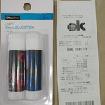 OfficeOne 2pk 35g Glue Stick for $0.10 @ Kmart