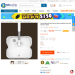 Xiaomi Handheld Electric Mop US $104.71 (~ $140.07 AUD) Delivered @ GeekBuying