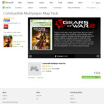 [Xbox 360 / Xbox 1] Gears of War 2 Multiplayer Map Pack DLC's FREE @ Xbox