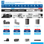 20% off Sonos Speakers @ Videopro (Eg. PLAY: 1 $195, PLAY: 3 $303, Playbar $840, Wireless Subwoofer $840, Playbase $895)