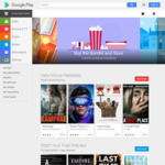 $0.99 or $1.99 for Any Movie Rental @ Google Play Store