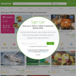 10% off Sitewide @ Groupon