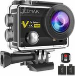 30% off JEEMAK 4K Action Camera + Wi-Fi Connection + Wireless Remote Control $69 Delivered (Was $99.99) @ Amazon AU