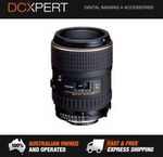 Tokina 100mm F2.8 AT-X Macro (Nikon) Lens + 32GB SD Card for $359.20 Delivered @ DCXpert eBay
