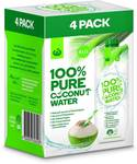 Woolworths Pure Coconut Water 4x 1L $7 (Was $10) @ Big W