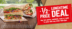 Half Price Hot Pastry, Wraps, Sandwich or Sushi Half Price with Any Drink Purchase (11am-2pm) @ 7-Eleven