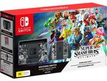 [Pre-Order] Nintendo Switch Console Super Smash Bros Ultimate Edition $499 + Delivery @ JB Hi-Fi