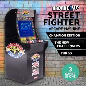 Street Fighter Retro Arcade Machine Arcade1Up Game Cabinet $399 20