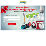 Win Two $500 Shopping Sprees from Catch
