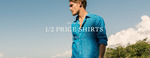 Rodd & Gunn All Shirts 50% off Today Only (in Store and Online)