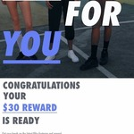 [VIC] $30 Voucher for Use in Store Only @ Nike Stores Melbourne (Ultimate You Gym Members Only)