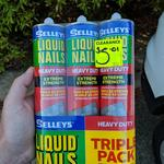[WA] Selleys Liquid Nails Heavy Duty 3 Pack - $5.01 @ Bunnings Rockingham