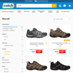 Merrell Moab 2 Ventilator Shoe $49 or $59 (Depends on Colour) Men/Women + $8.95 Shipping (Free with Club Catch) @ Catch
